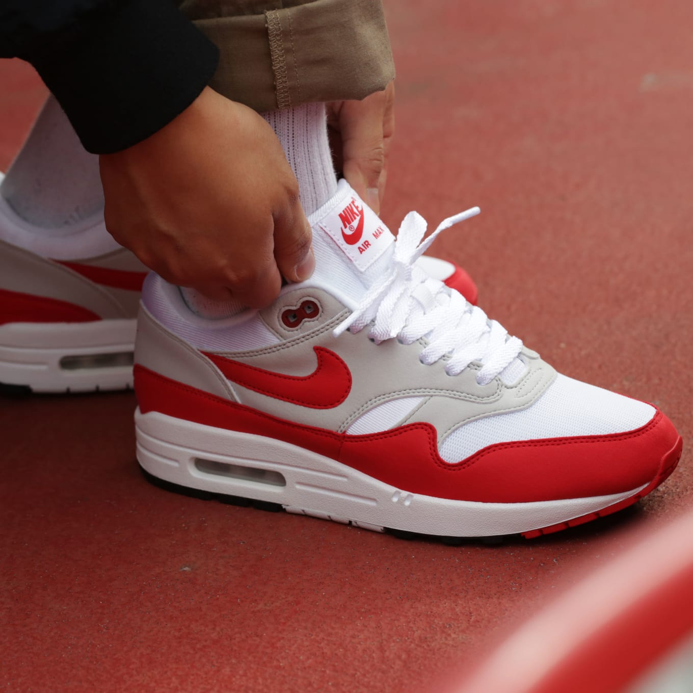 b68932cd21 Nike Air Max 1 OG Red Release Date 908375-103 | Sole Collector