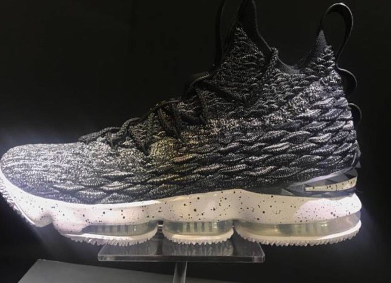 82e89a5c04b The Nike LeBron 15 releases in October.