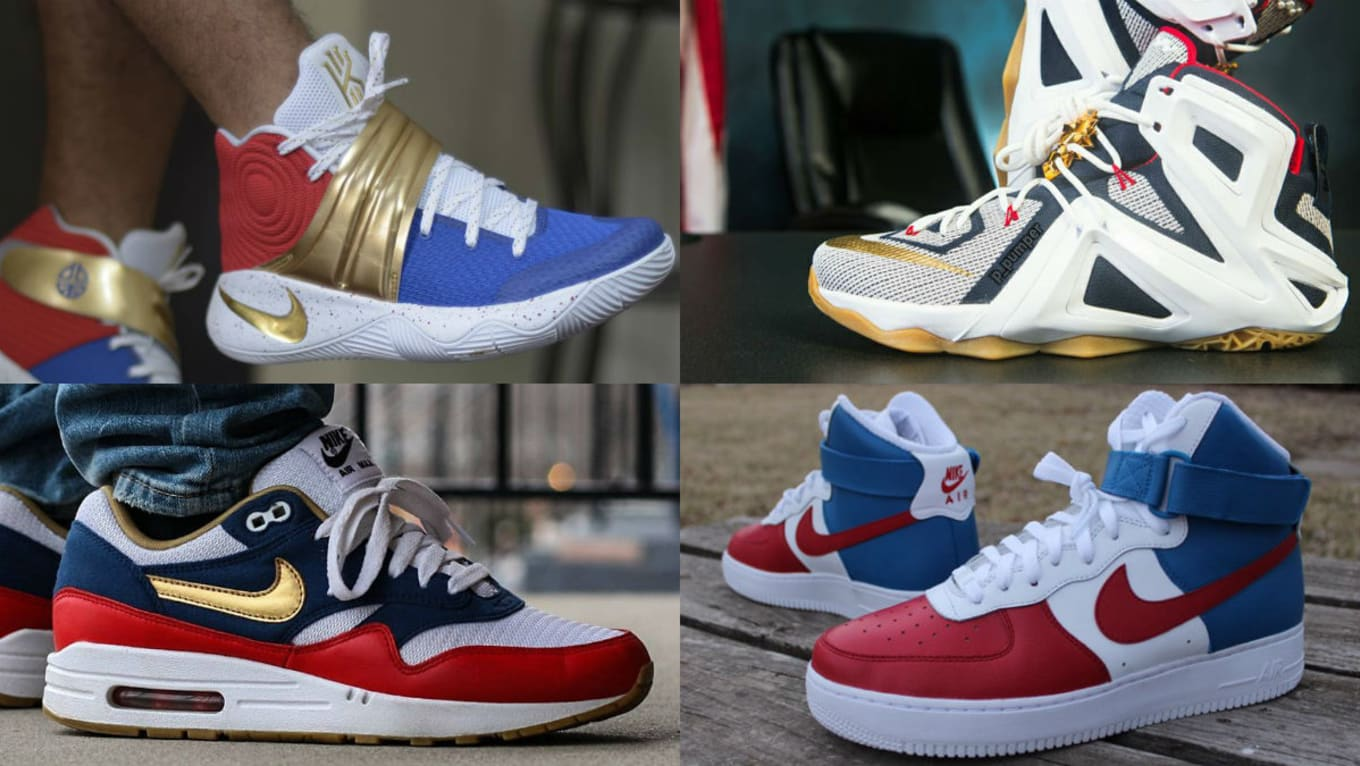 quality design 2b549 d1d47 The 50 Best  USA  NIKEiD Designs. Red, white, and blue colorways of your  favorite sneakers.