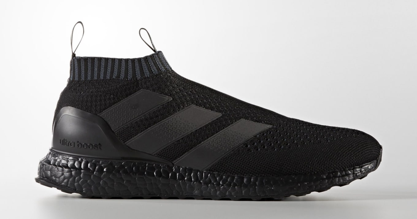 brand new a2ed6 64fb5 Adidas Does  Triple Black  Boost Sneakers Again. This time on the Ace 16  Pure Control Ultra Boost.