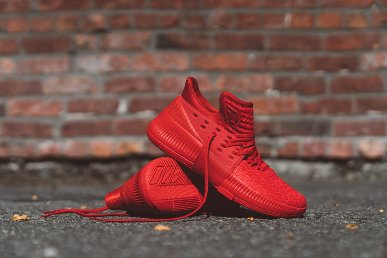 2a5b40831f2e Damian Lillard s Next Signature Sneaker Is Inspired by Bricks. The  inspiration behind the triple-red Adidas Dame 3.
