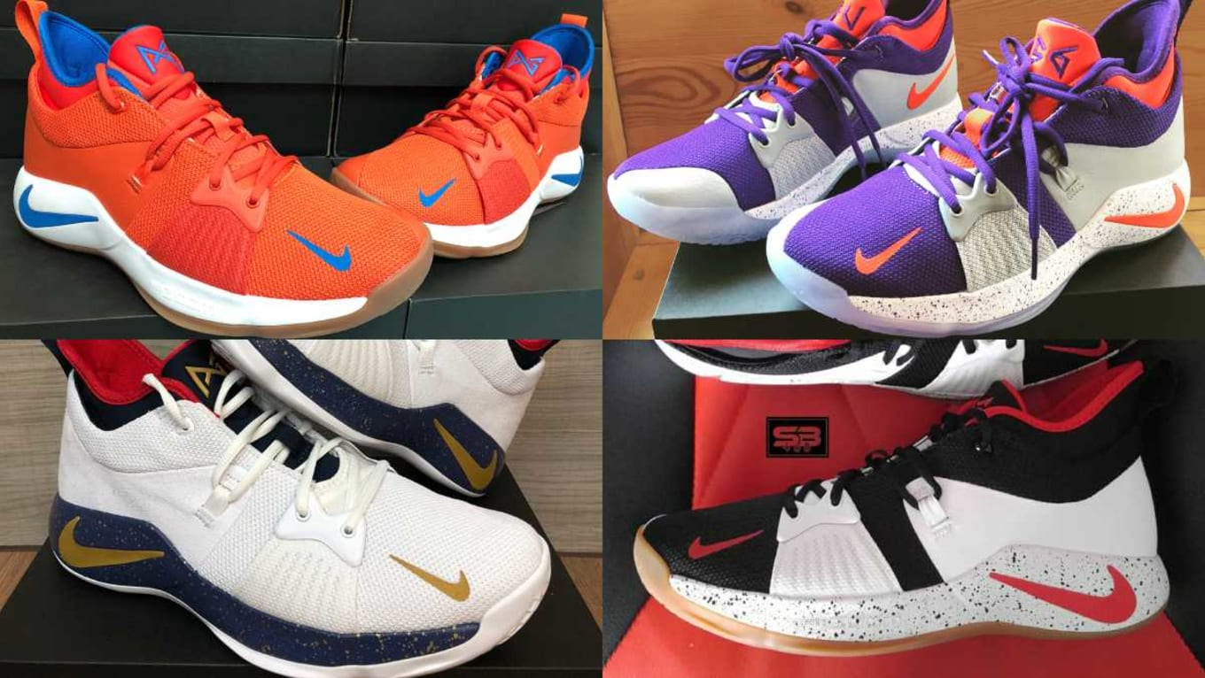 a341fb1ff0 The 50 Best NIKEiD PG2 Designs. Saying goodbye to Young Trece's second  signature sneaker.