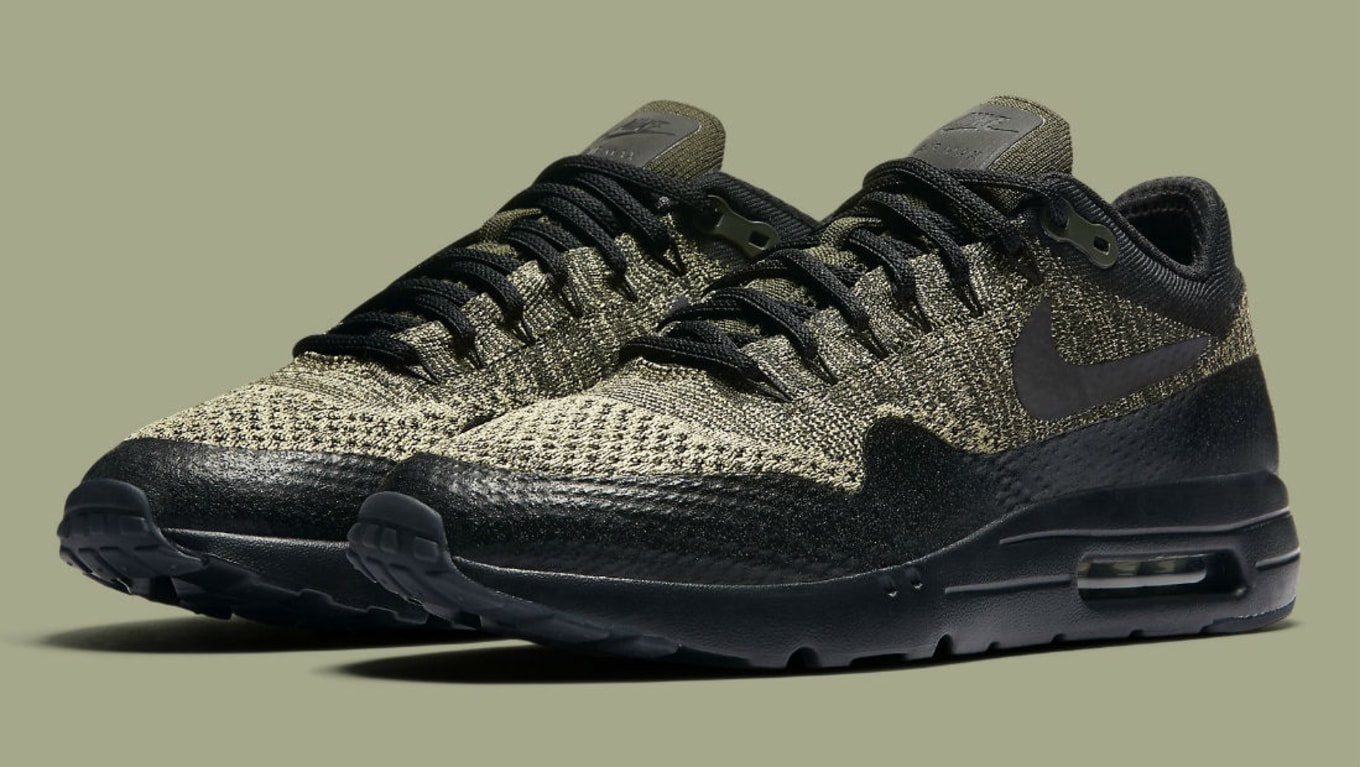 buy online 500a4 cdbdb Nike Air Max 1 Ultra Flyknit Neutral Olive/Black-Sequoia ...