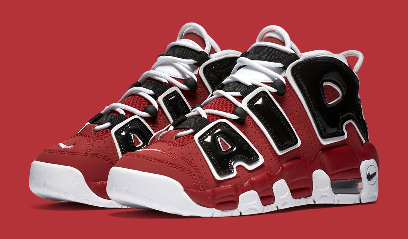 This Scottie Pippen Shoe Is Coming Back. The red white black Uptempo  returns. f3c3fd8194f2