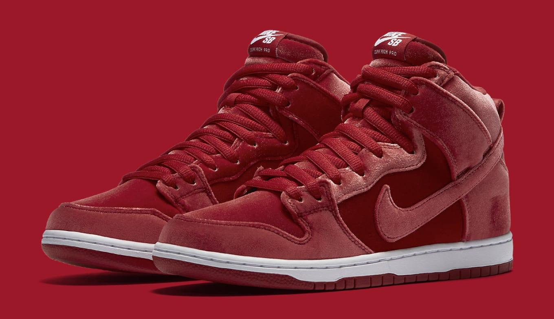 buy online 526b4 731e7 Nike SB has red velvet Dunks coming.