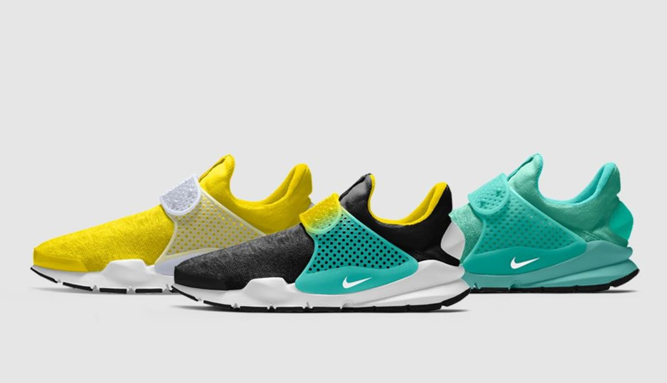 93048f9d8a7 New Options for the Sock Dart on NIKEiD This Week