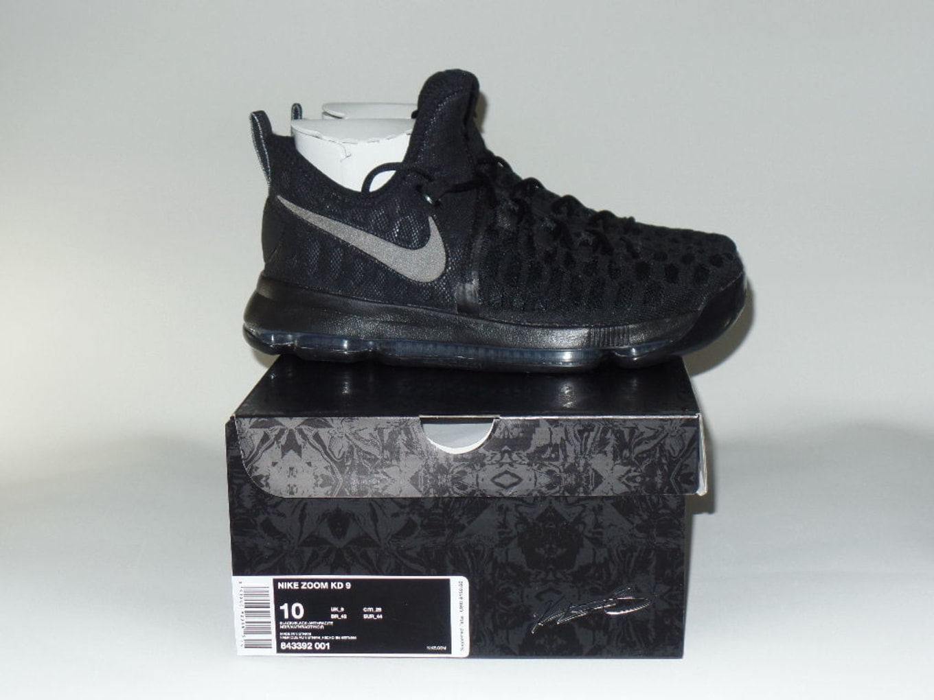 a26e22aa1799 The Nike KD 9 Gets Blacked Out. The