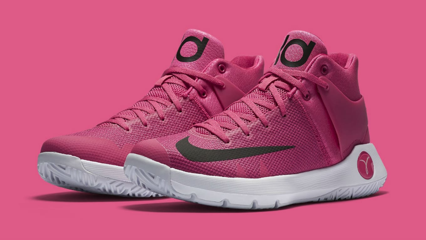 a995f2702436 Nike KD Trey 5 IV Think Pink Breast Cancer Kay Yow 844573-606