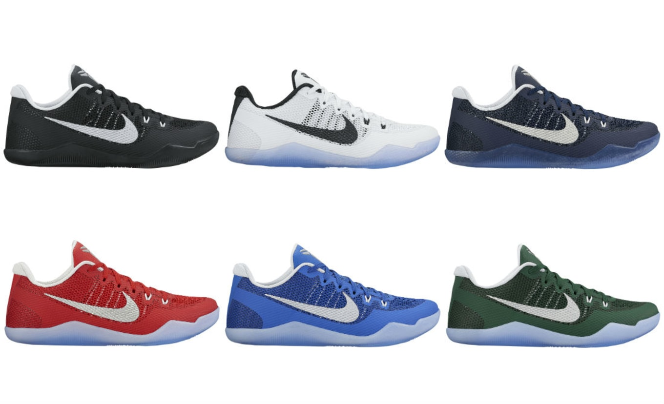 1d48471c3e6814 Team Bank Nike Kobe 11s Are Available. Team-inspired colorways for the new  season.