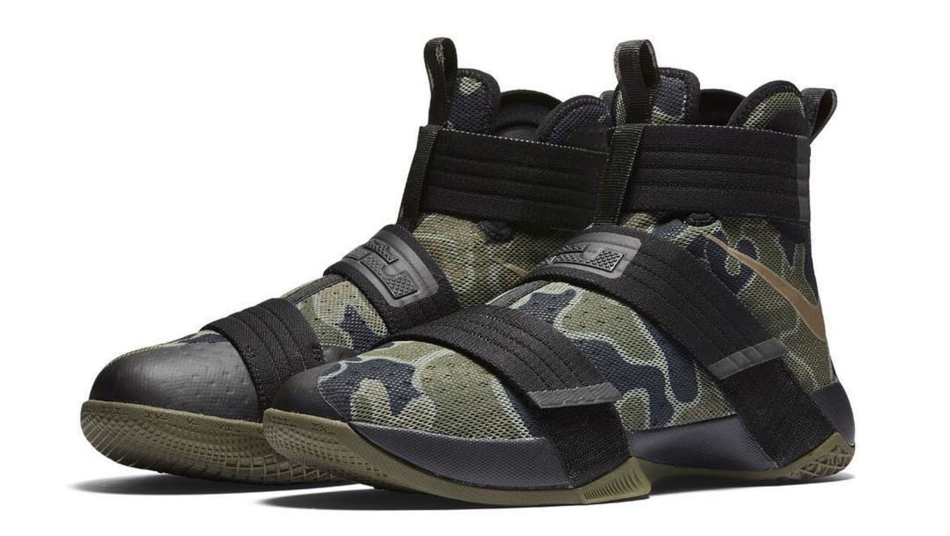 more photos 66429 6963b Nike Zoom LeBron Soldier 10 SFG