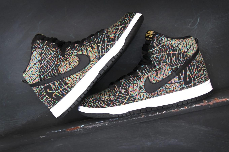 sale retailer 12c9d 8144a A groovy Nike SB Dunk High release.