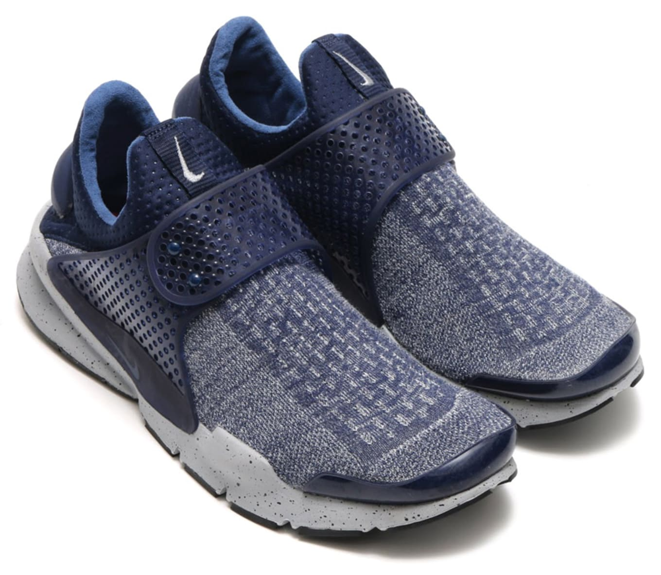 reputable site ab398 4b547 Nike Sock Dart SE Midnight Navy University Red Wolf Grey   Sole ...