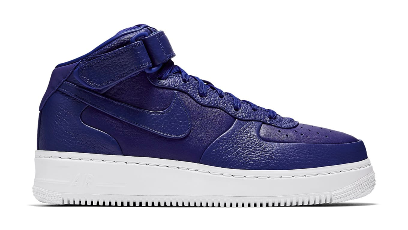ba18653be8e NikeLab Air Force 1 Mid Pack. Nike Air Force 1 Mid. Image via Nike. NikeLab Air  Force 1 Mid Night Maroon Sole Collector Release Date Roundup