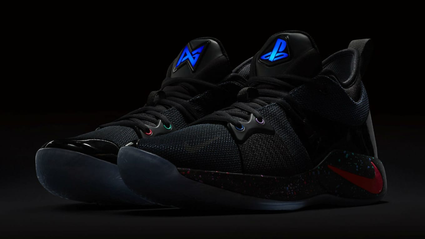eb275ccb66f9 The Limited Edition Playstation x Nike PG2 Releases Feb. 10