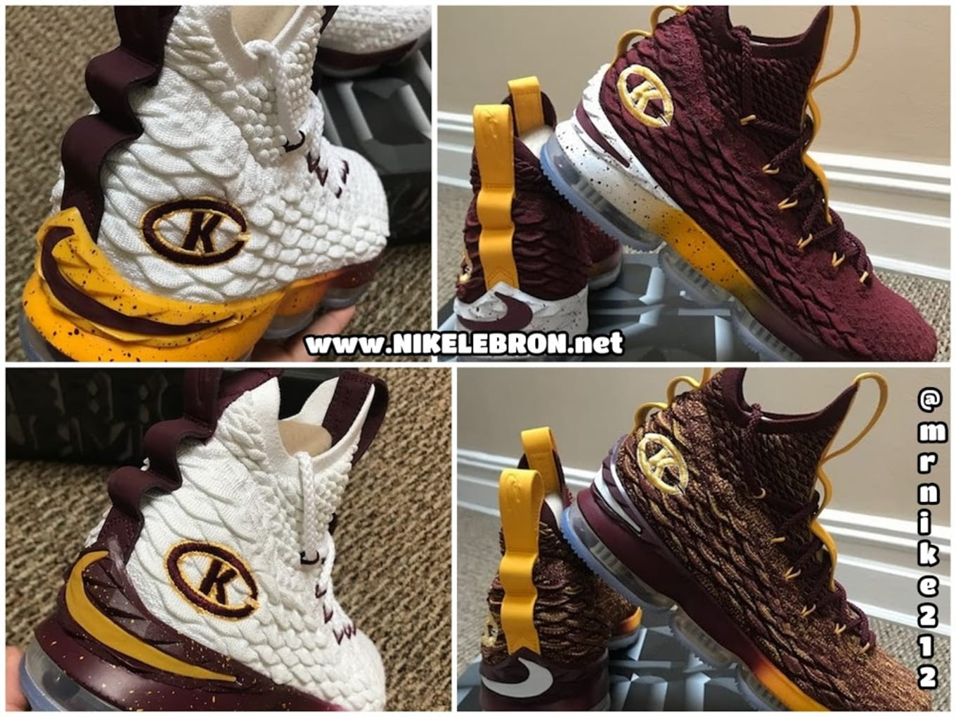 official photos ff10b 2c816 New York High School Has Four Pairs of Exclusive Nike LeBron 15s