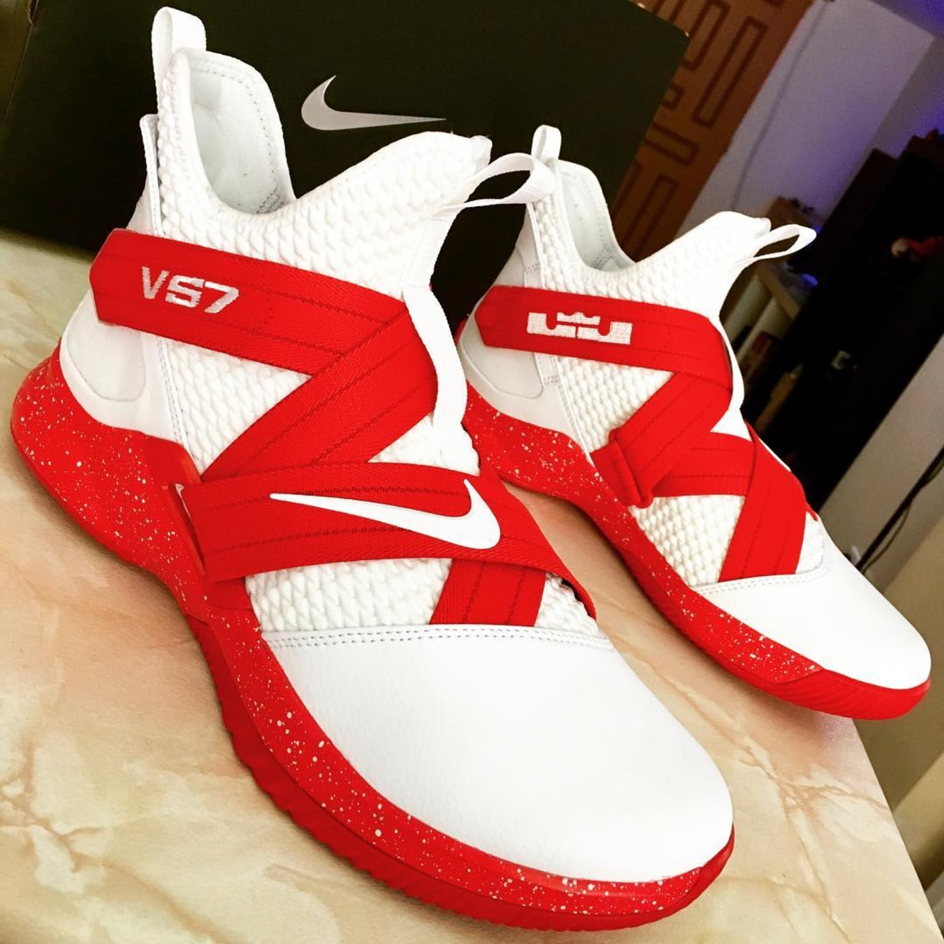 best sneakers 7299c 3e8af NIKEiD LeBron Soldier 12 Designs | Sole Collector