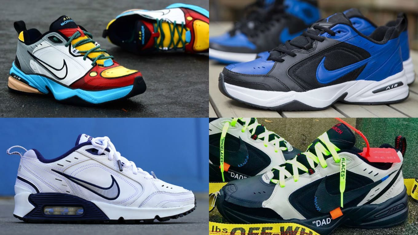 premium selection 22cda 6a435 Nike Air Monarch IV
