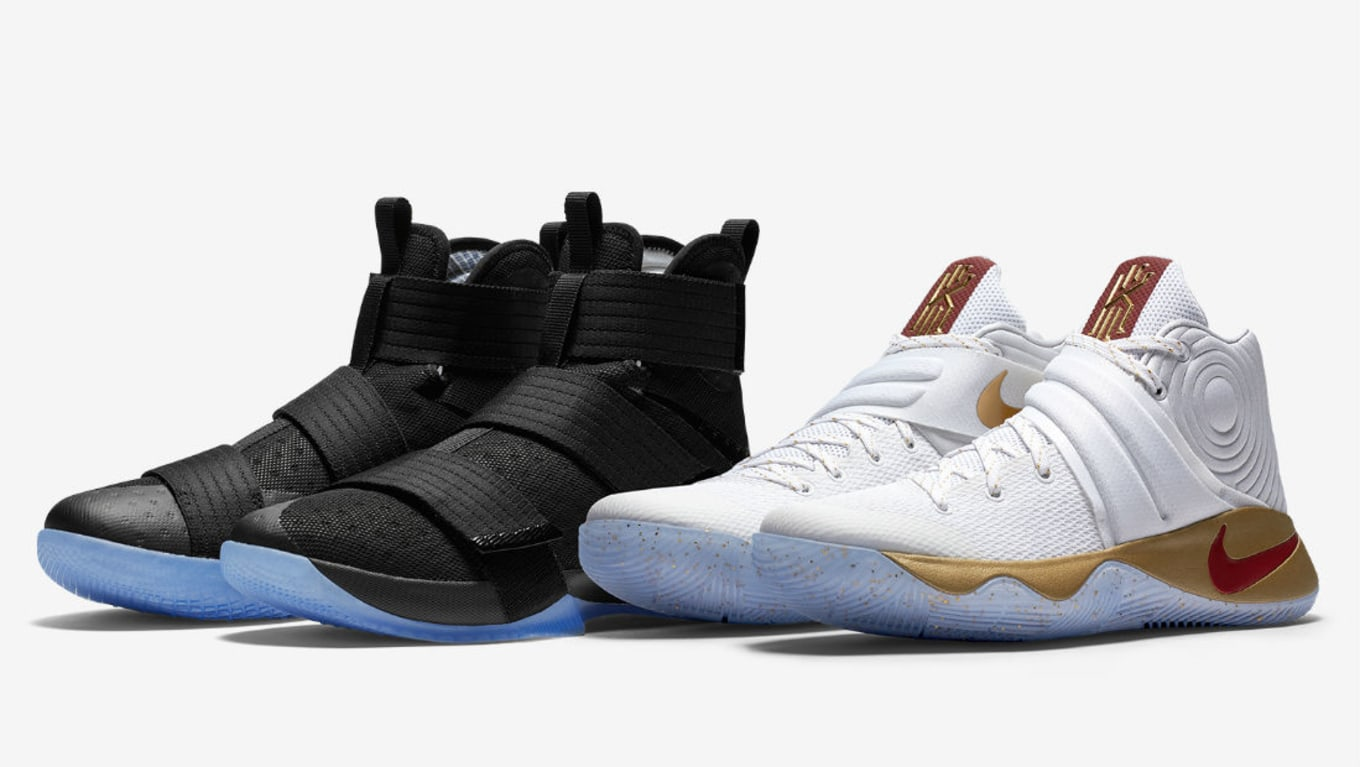 super popular d2012 c123f Nike LeBron Kyrie Four Wins Champ Pack Europe Release | Sole ...
