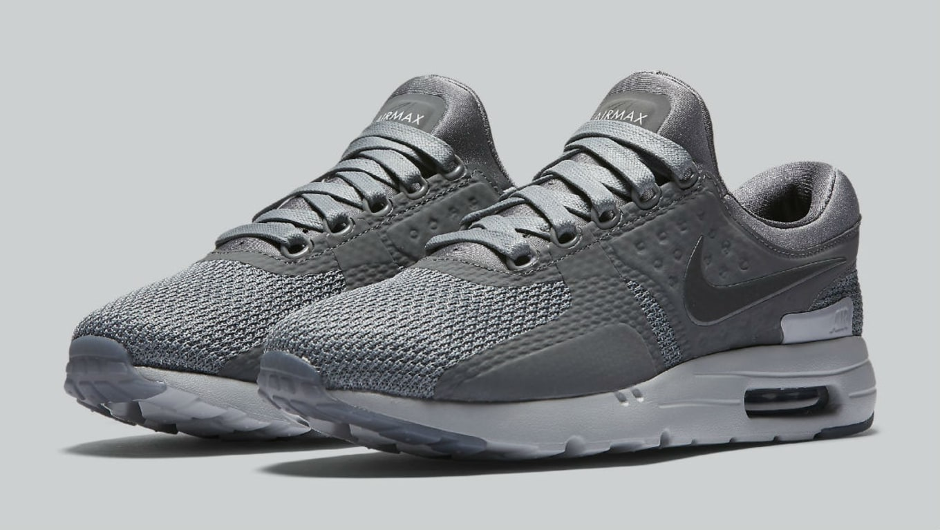 brand new d9bf4 b7446 Nike Air Max Zero Cool Grey 789695-003 | Sole Collector