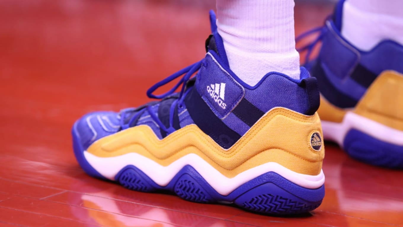 Nick Young Adidas Top Ten 2000 Warriors PE | Sole Collector