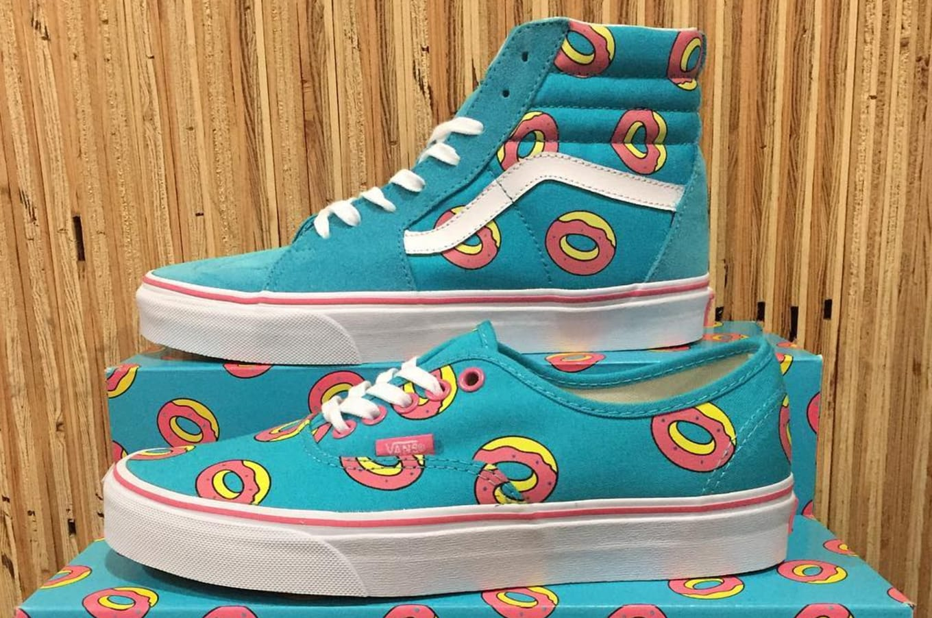 38d40549f005bf A pair of donut sneakers from Tyler