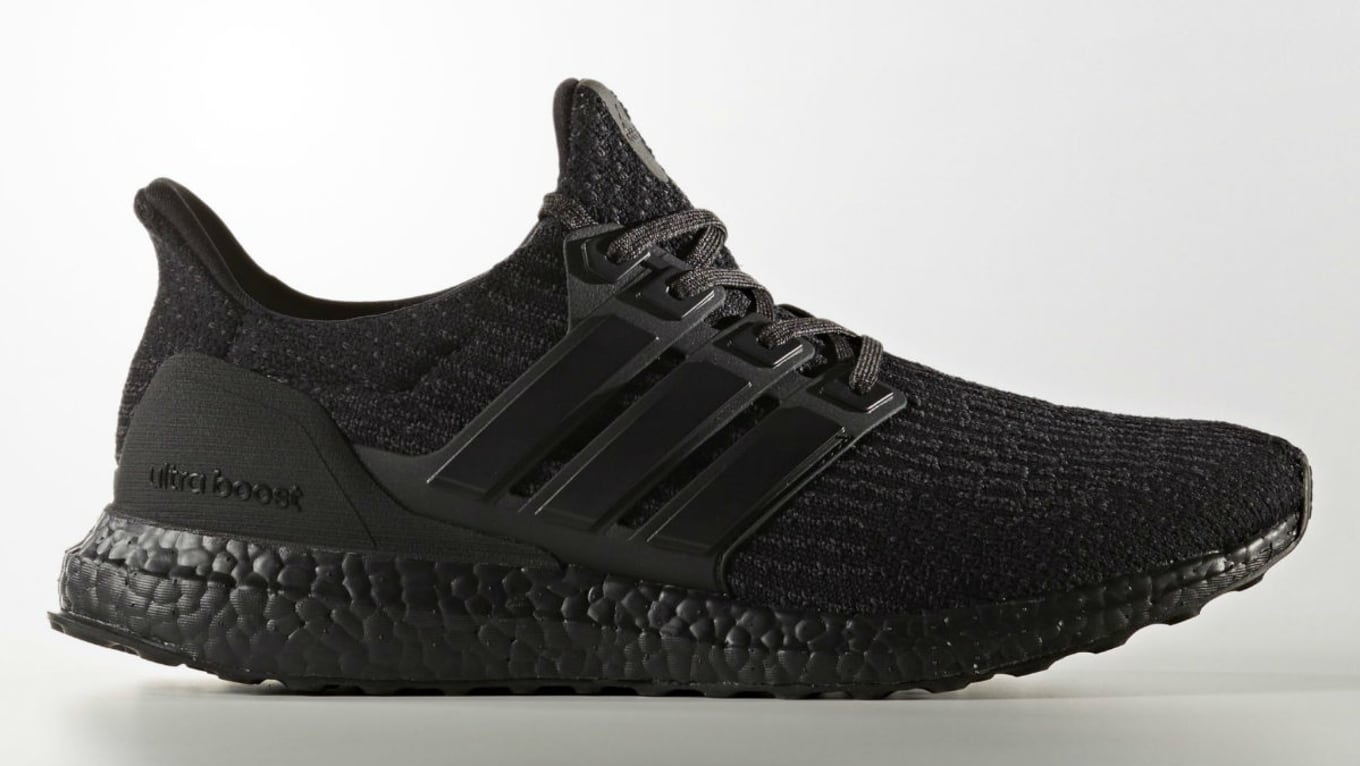 finest selection f07b5 3c424 Adidas Ultra Boost 3.0 Triple Black Release Date Profile CG3038