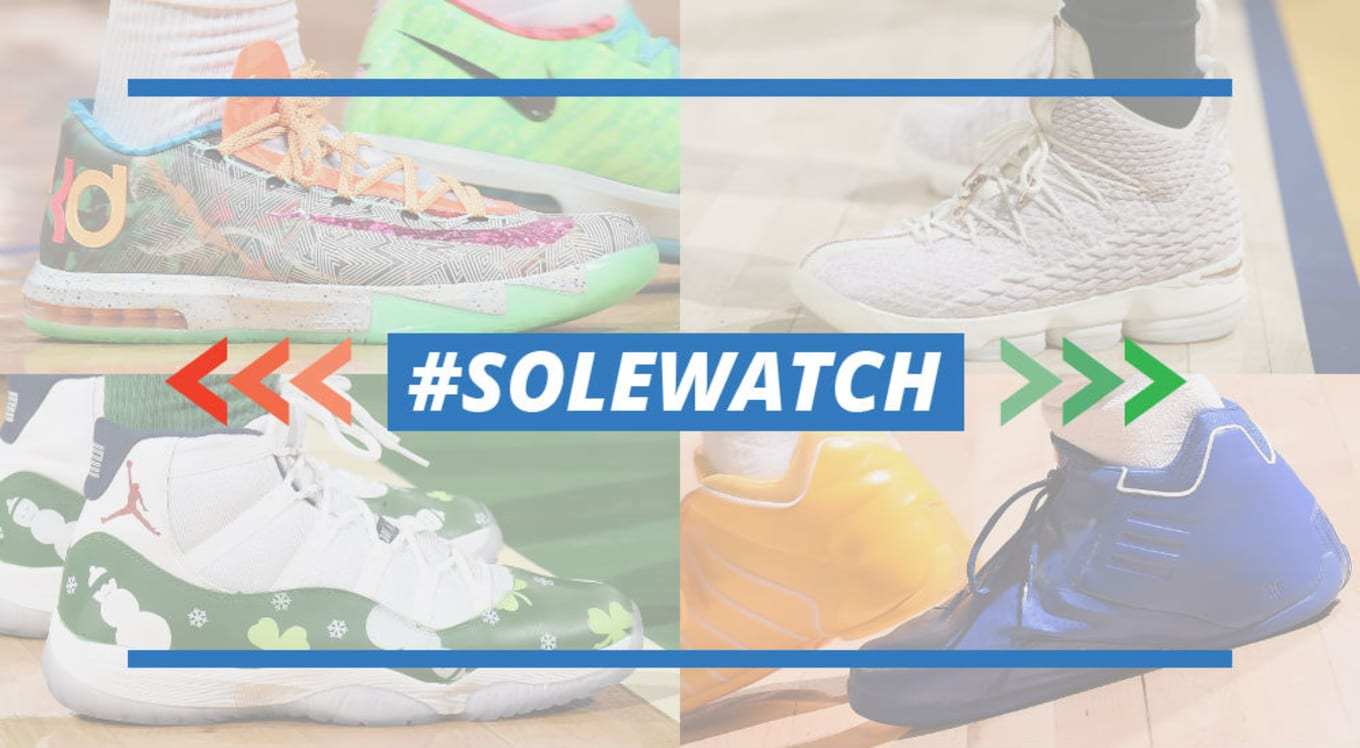 hot sale online 4c8d0 49779 One of the most exciting weeks on the  SoleWatch calendar concludes with  our final set of power rankings before the start of the new year.