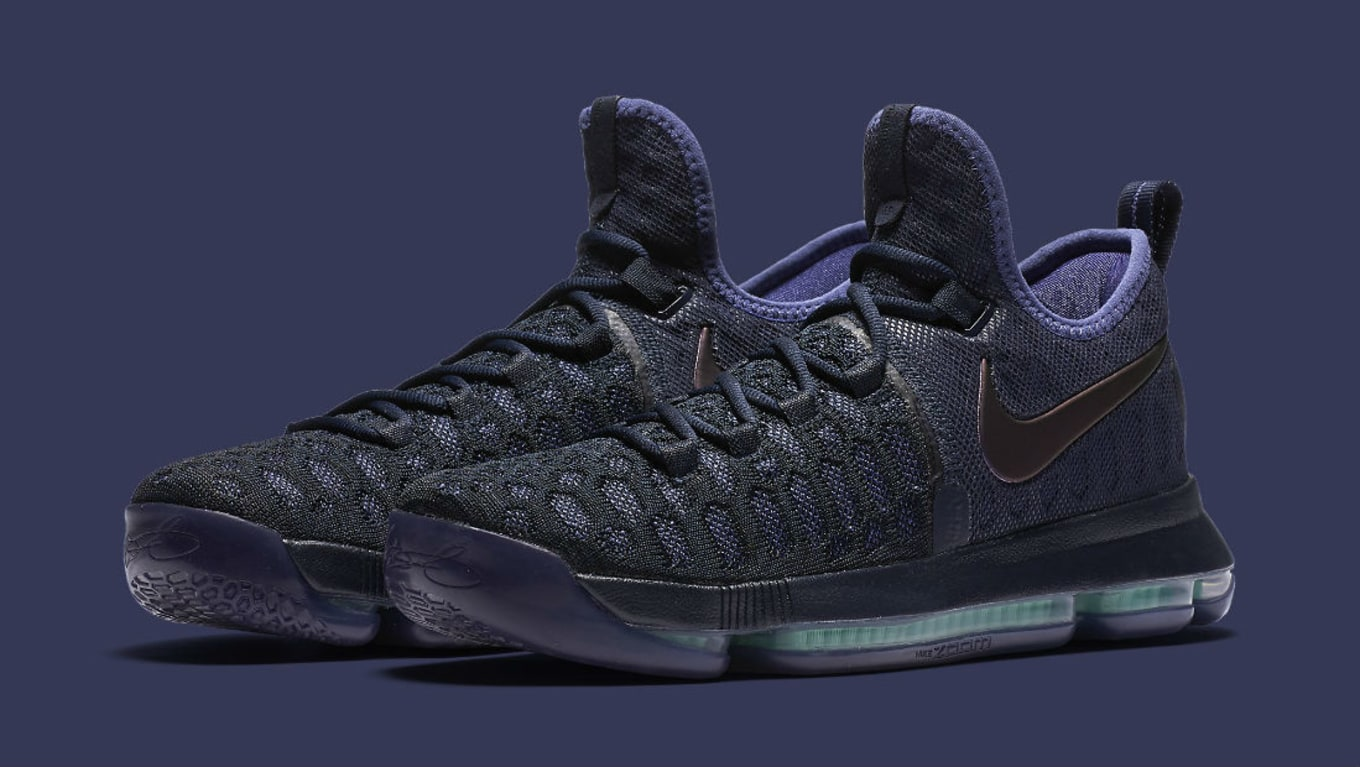 c9e9e1af69a5 Nike KD 9 Obsidian Dark Purple Dust-Black 843392-450