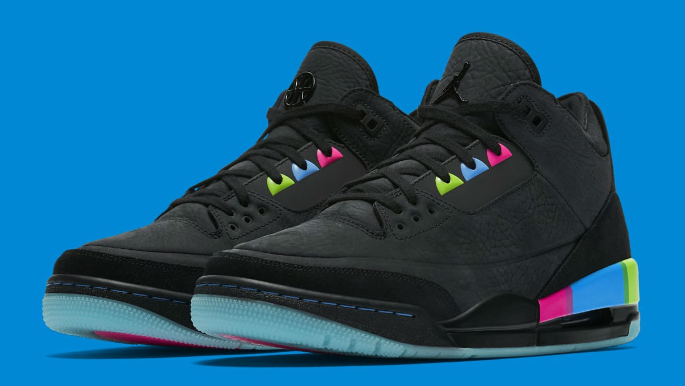 41b755a3e80113 The  Quai 54  Air Jordan 3 Is the Next with a Clear Sole