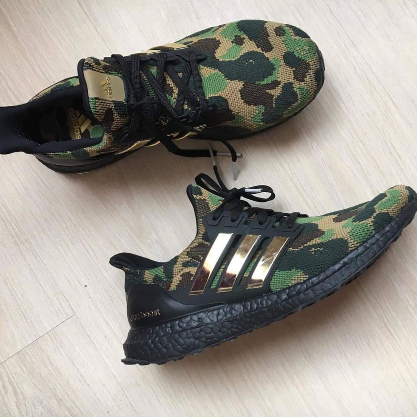 e1d2d4ac0 Bape x Adidas Ultra Boost Collaboration Release Date