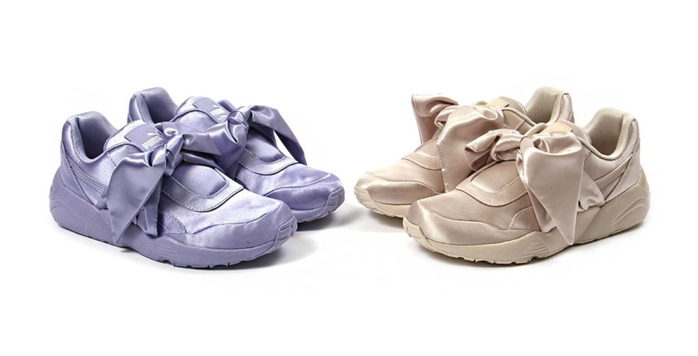 4fdcad09fcaa3a The bow sneaker collection from Fenty x Puma is available now.