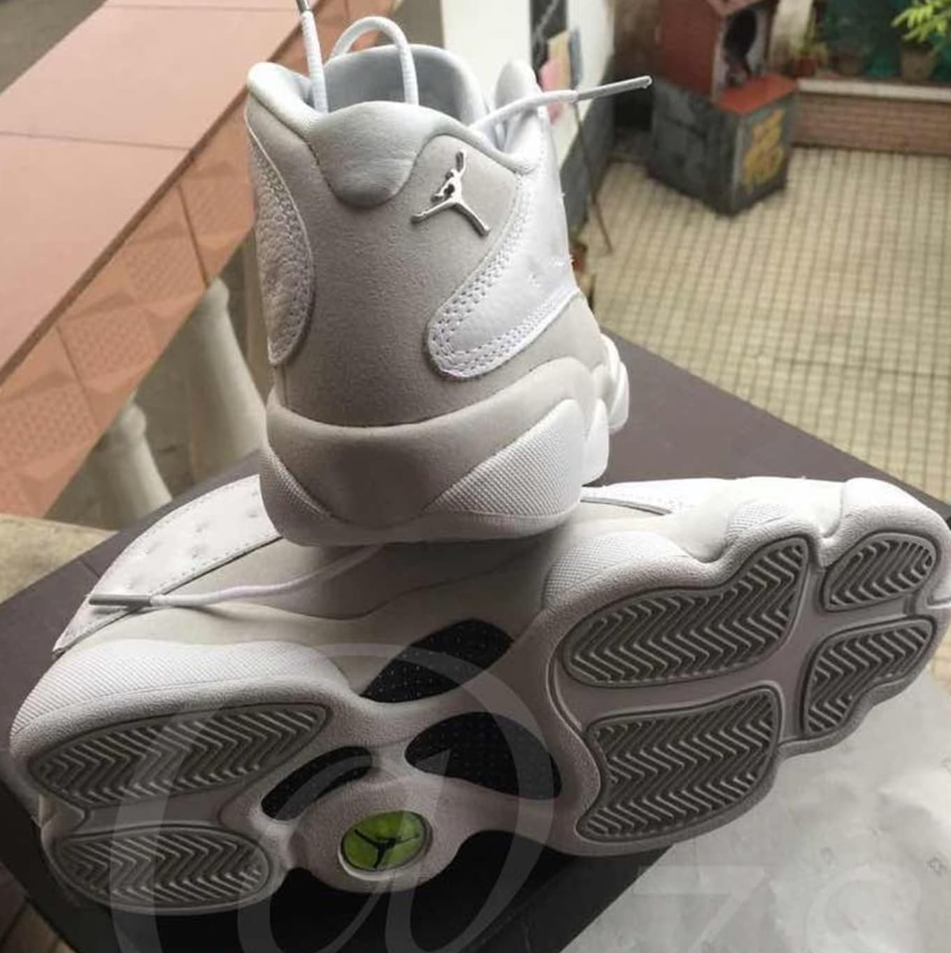 ad55c18ab54 Air Jordan 13 Low White Metallic Silver Release Date | Sole Collector
