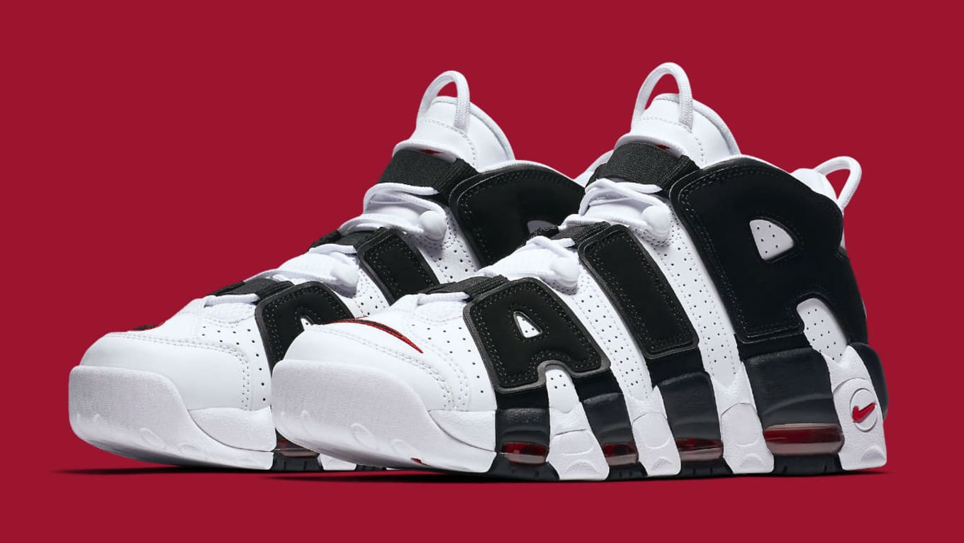 34a482743c2 Scottie Pippen Finally Gets His Own Nike Air More Uptempos. Official Pippen  colorway releasing June 29.