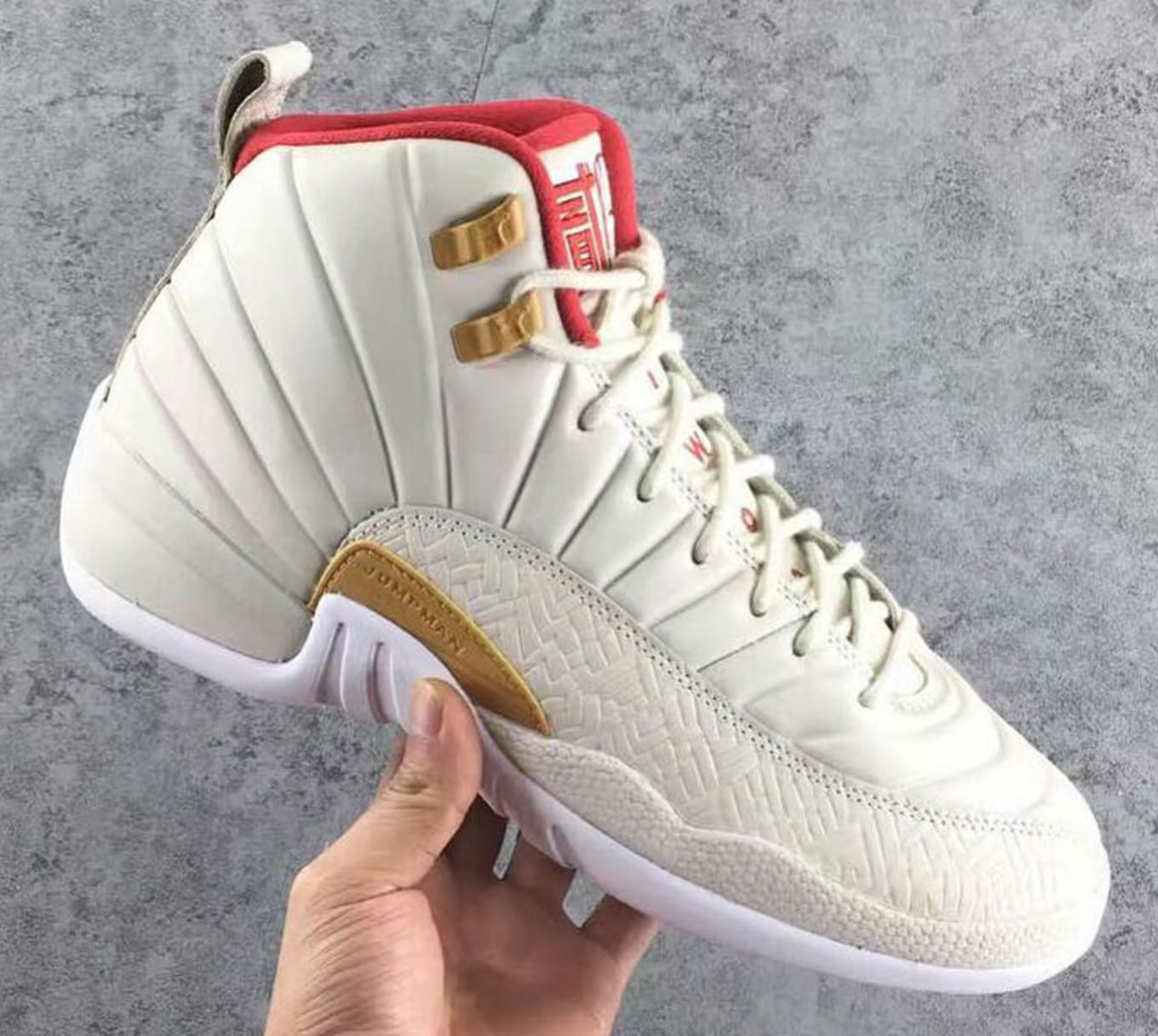 separation shoes 67142 b9407 Air Jordan 12 GG White/Red Release Date | Sole Collector