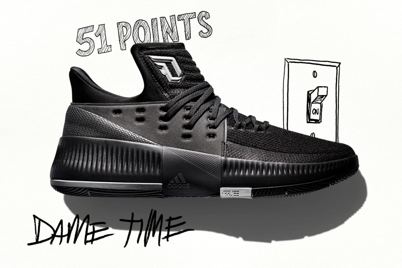 reputable site 619be 2ea1b Dame Lillards Clutch Shots Inspire Latest Adidas Sneaker. Release details  for the