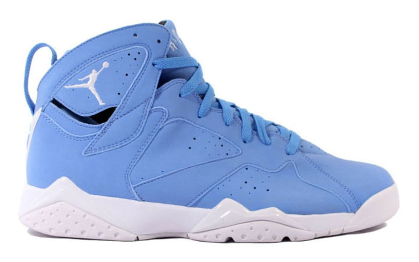 bc09ab6f9a6 Air Jordan 7 (VII). Remember the blue