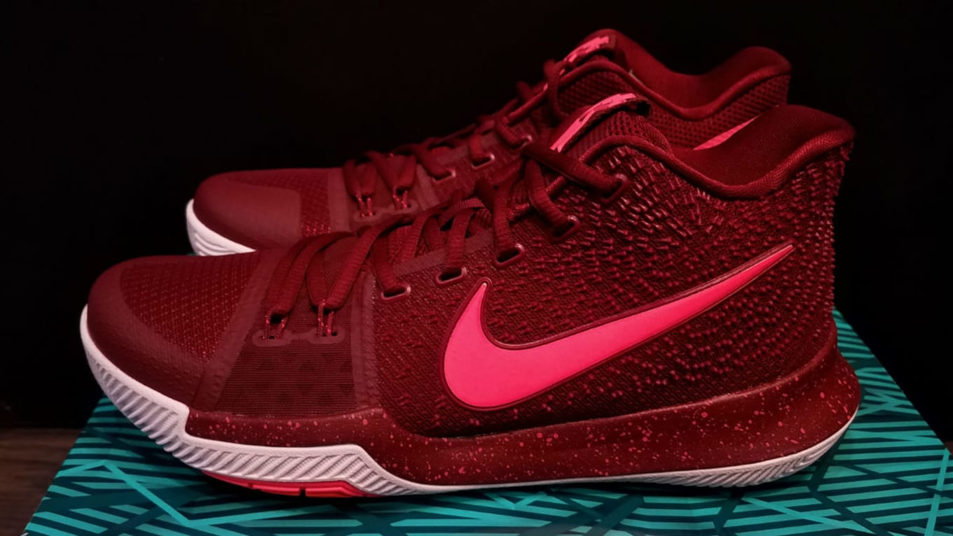 a85e0d2498cf Nike Kyrie 3 Team Red Total Crimson Release Date Right 852395-681 ...