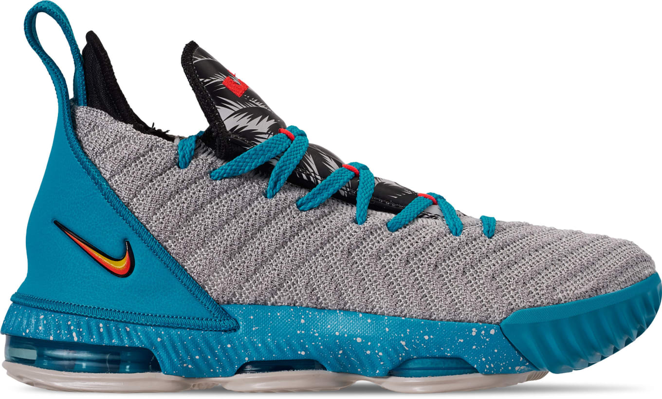 abfbede460b08 Nike LeBron 16 GS 'South Beach' Release Date AQ2465-076 | Sole Collector