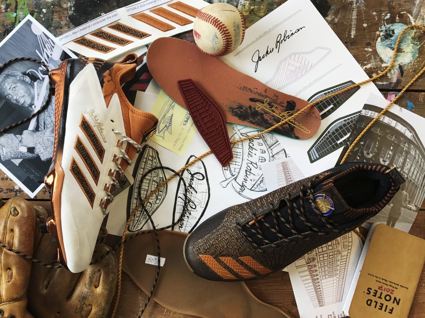 d96e03d95ff16 How Adidas is celebrating Jackie Robinson Day on and off the field.