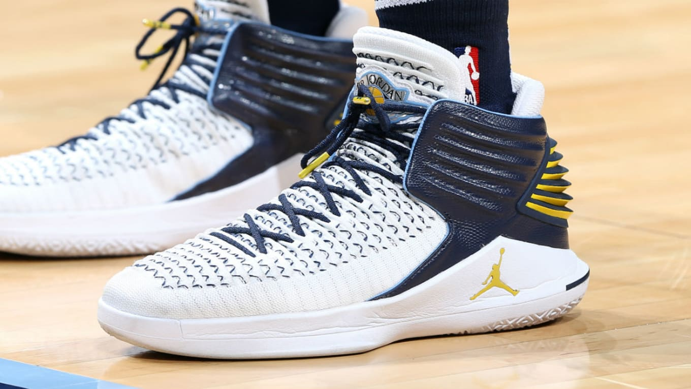 5c4ee234fdd2 ... Mike Conley Continues to Win in the Air Jordan 32. Check out his latest  PE colorway.