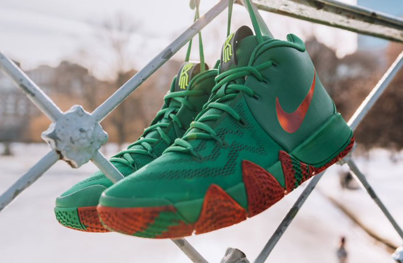 release date: 5b8cd 7f2df Fall Foliage Nike Kyrie 4 Release Date | Sole Collector