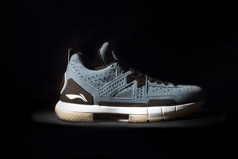 2ebe25252563c5 Dwyane Wade s New Sneakers Get Covered In Denim