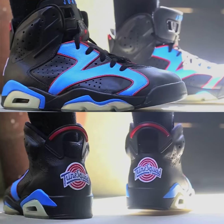 500aef21ac7518 Space Jam Air Jordan Custom Sneakers
