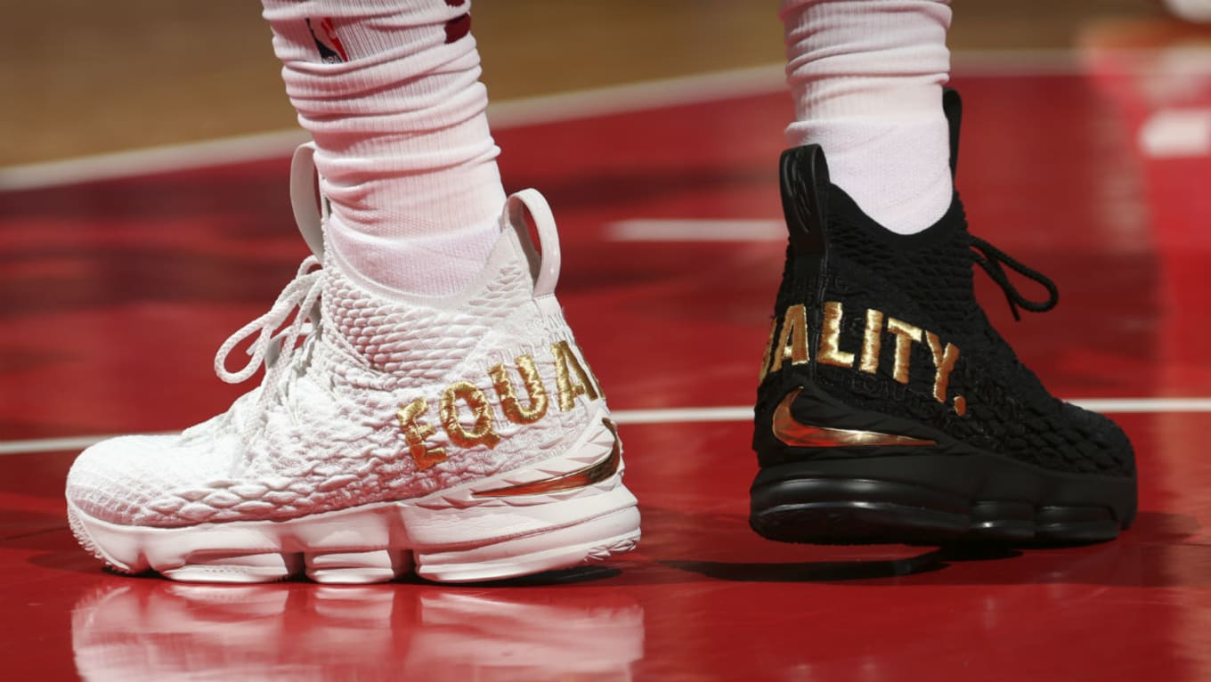 25fa3cd5af6  SoleWatch  LeBron James Sends Message of Equality on Sneakers in D.C.