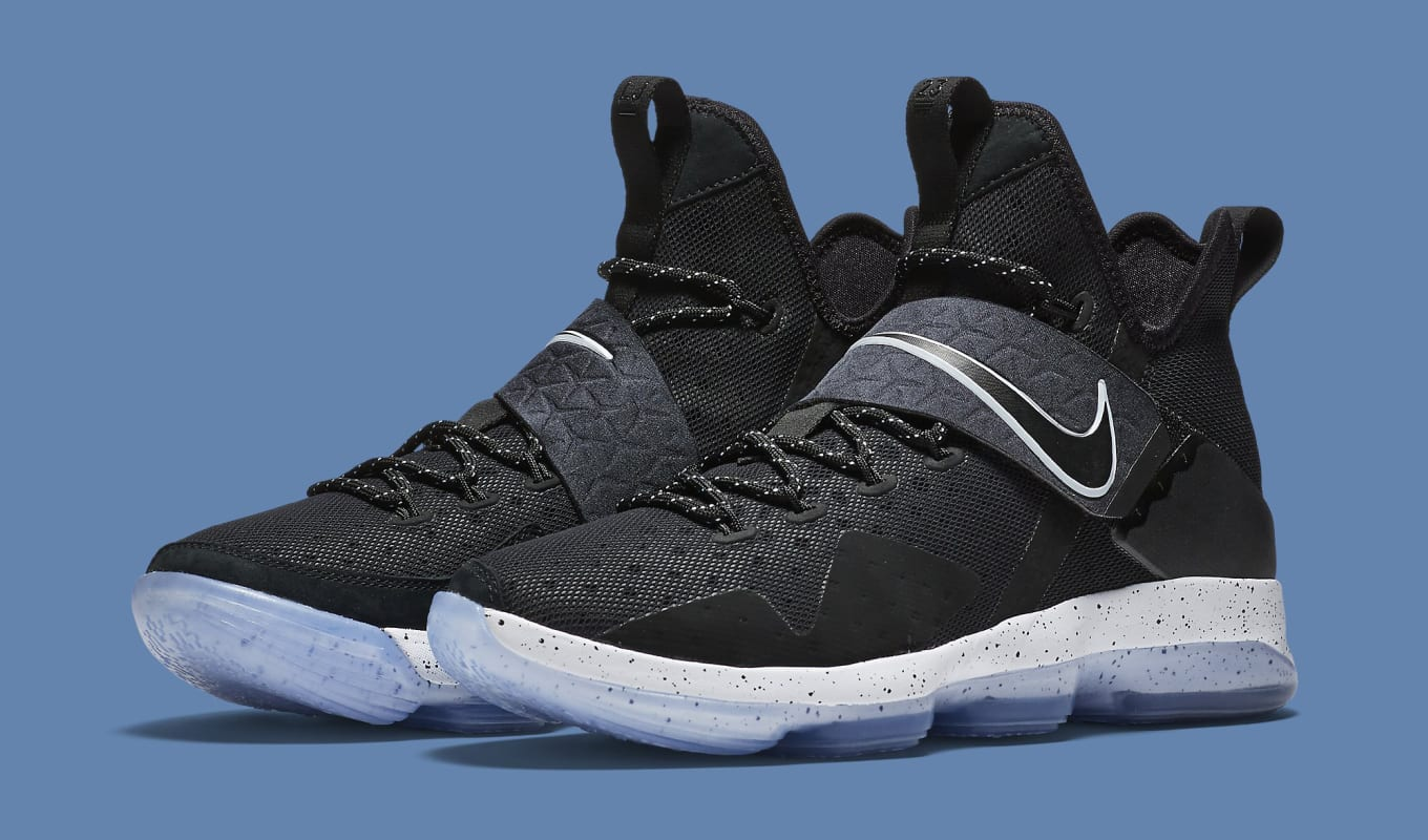 finest selection 04264 ea7bf  Black Ice  Nike LeBron 14s releasing on Jan. 28.