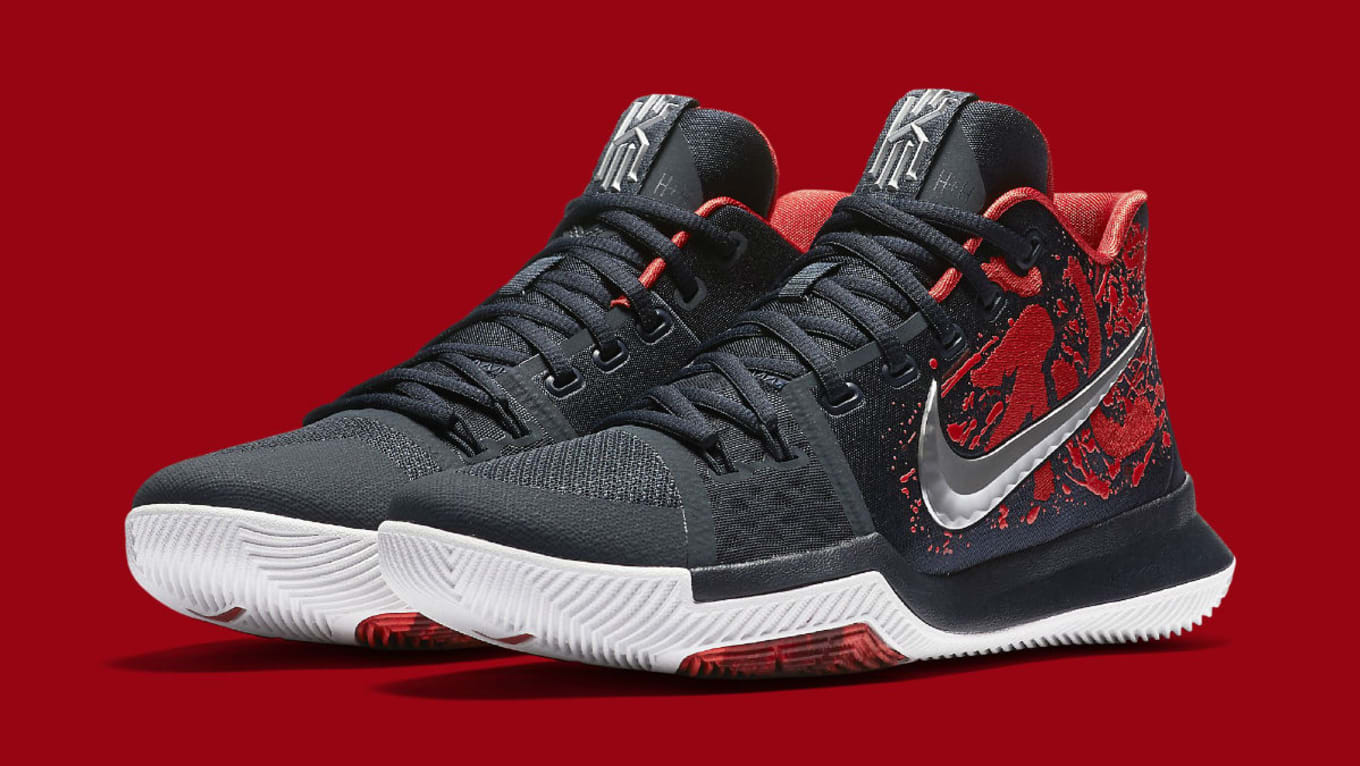 wholesale dealer ea250 b75c6 Nike Kyrie 3 Samurai Release Date 852395-900 | Sole Collector