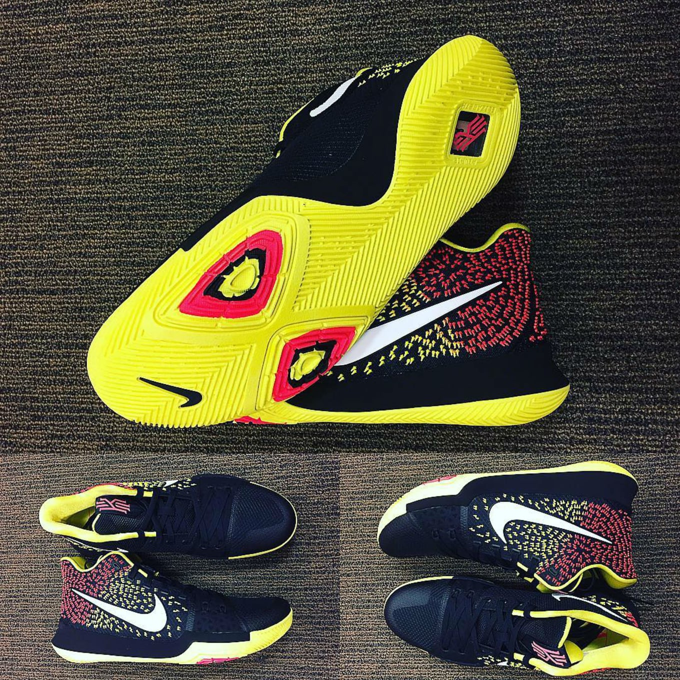 separation shoes 13a90 bab4e Cavs Assistant Shares Unreleased Nike Kyrie 3