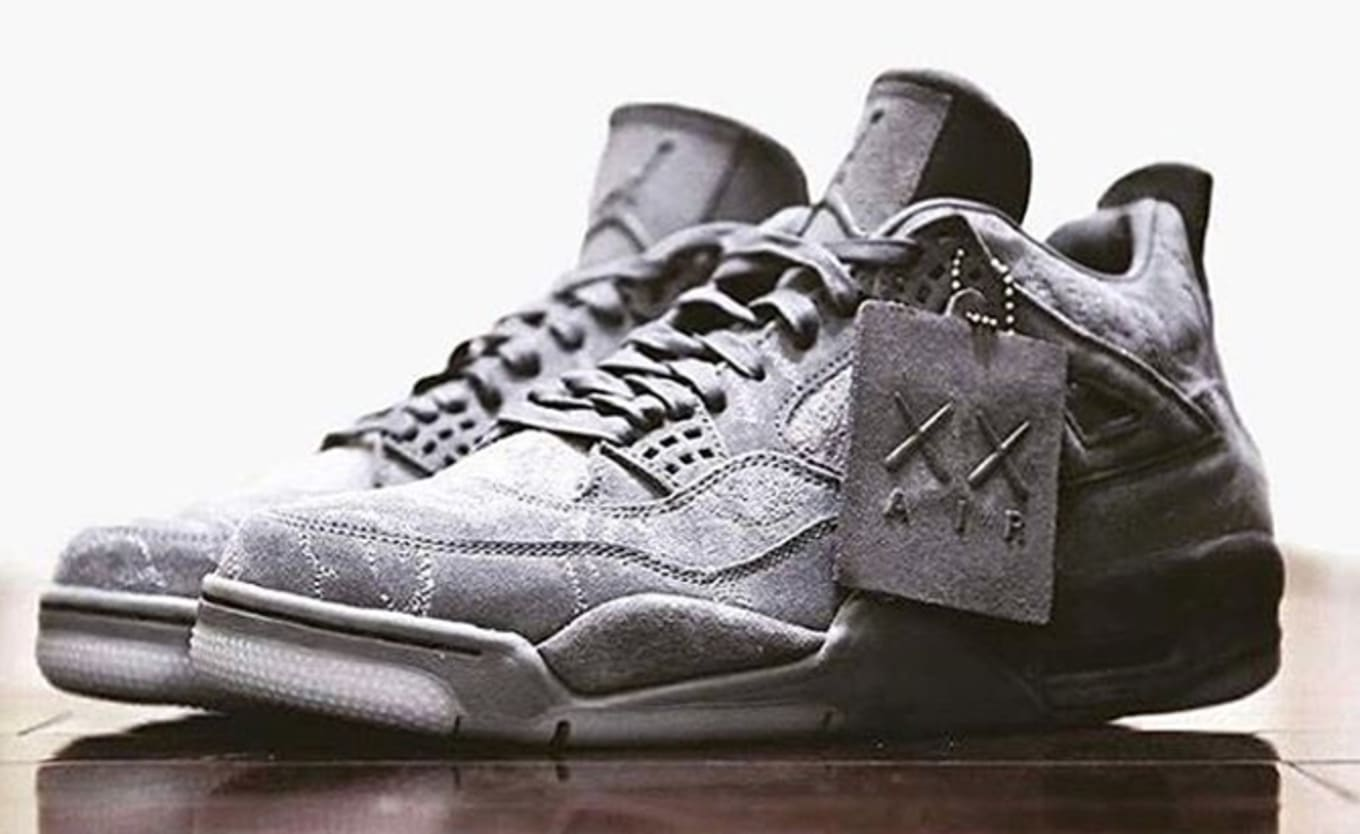 1d21a69e3b4 Air Jordan 4 Kaws 930155-003 Release Date | Sole Collector