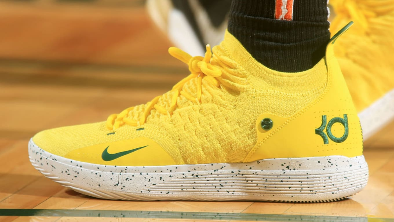 Breanna Stewart Nike KD 11 Storm Yellow PE  Sole Collector
