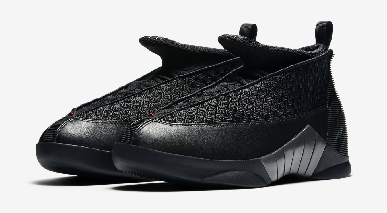 check out 588fa 60cbc ... Nike Accused of False Advertising Over Air Jordan Retro  2008 Nike Air  SE Jordan XV 15 Retro SE Air BLACK GOLD BRED WOVEN 317112 ...